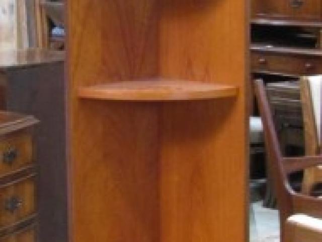 meuble de coin en teck année 70